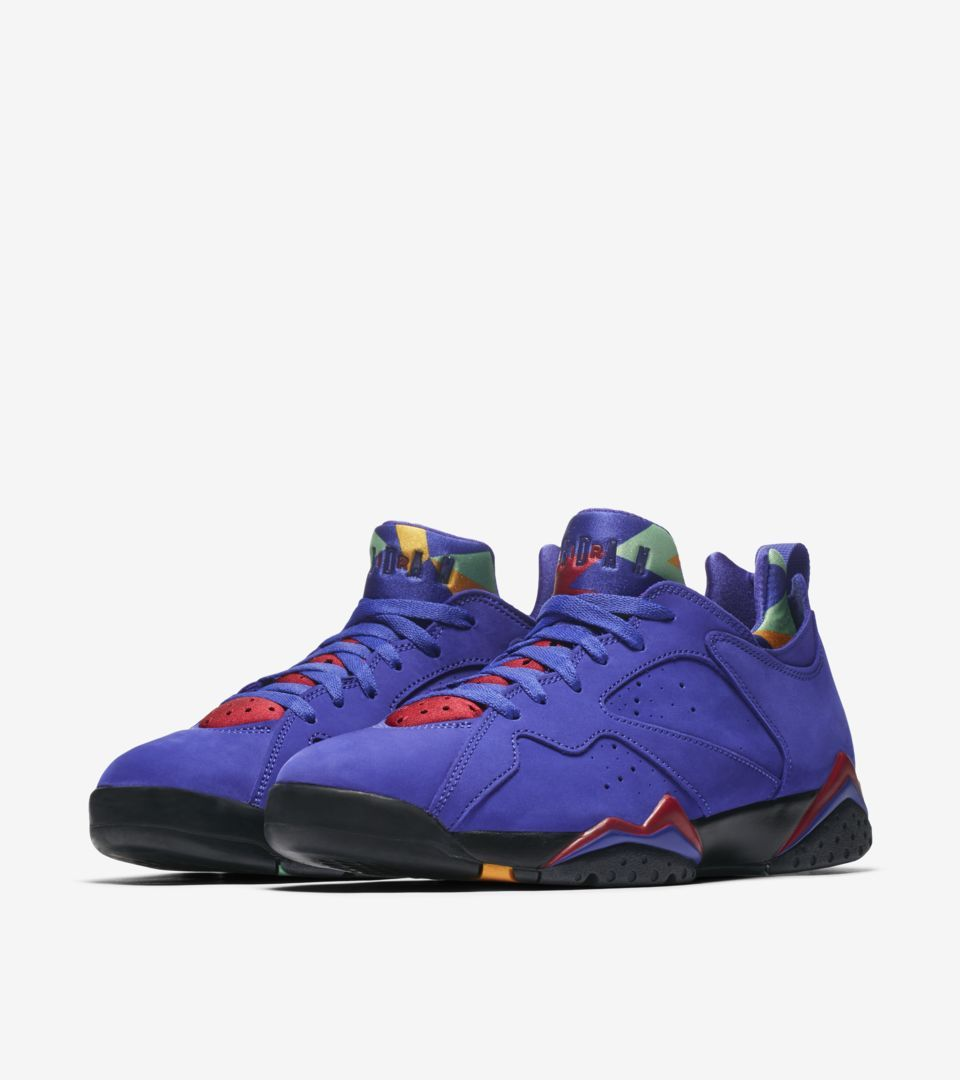 check out 85cb4 586e1 Air Jordan VII (7) Retro Low NRG  Bright Concord  -Release Date  Thursday,  September 27th 2018 -Price   140