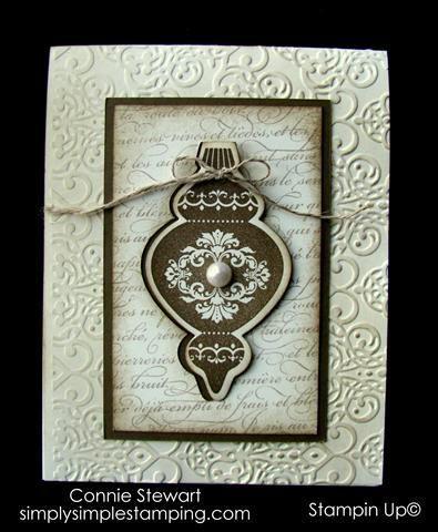 FLASH CARD   Vintage Christmas ~ Connie Stewart | Scrapbooking