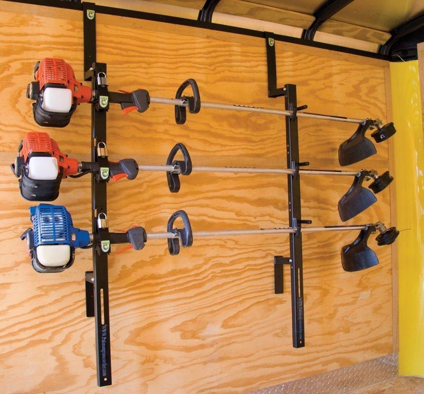 diy rack enclosed trailers