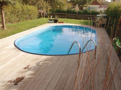 Bildergebnis für poolgestaltung stahlwandbecken Pools und mehr - whirlpool im garten selber bauen
