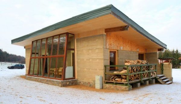 Rammed Earth | C-Tech Project | Rammed earth homes, Rammed earth