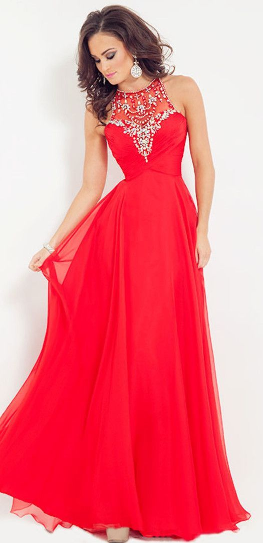 Red ball gown prom dresses uk cheap