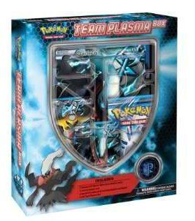 Toy Play Pokemon Team Plasma Box Playset White Game Pokemon Card Maker Version Play Online Game Pokemon Teams Pokemon Pokemon Card Packs