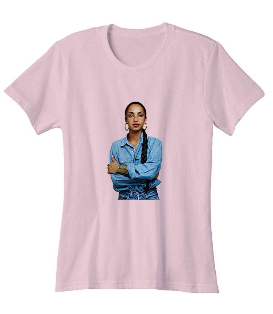 074ce3e7 Sade Rock Singer Woman's T-Shirt | Tops | Shirts, Tops, T shirts for ...