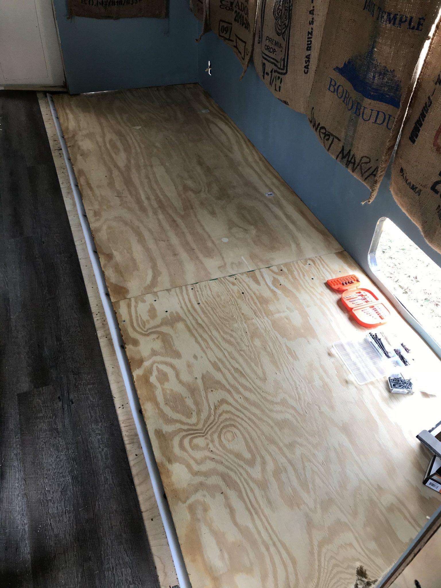 When Slide Floors Go Bad Replacing The Slide Floor Camper