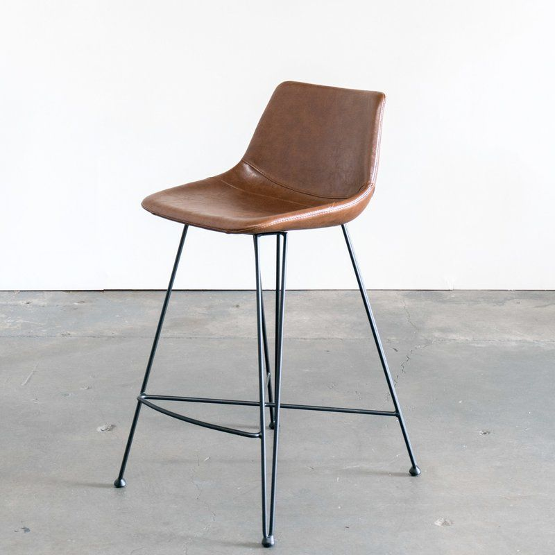 The Odette Counter Stool Taps Mid Century Modern Design In