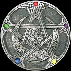 Wicca pentagram   Arcane 2015   Wiccan symbols, Pentacle, Pagan shop