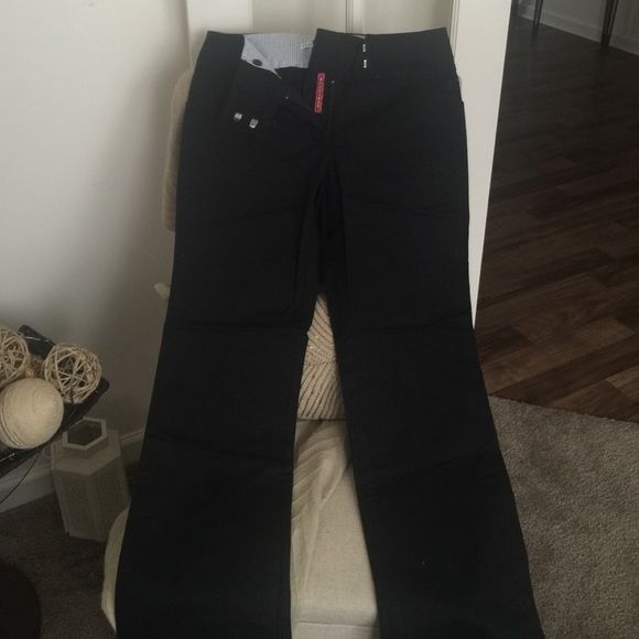 Tommy Hillfigure Black trousers Black Tommy Hillfigure trousers. Never worn Tommy Hilfiger Pants Trousers