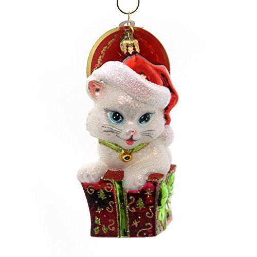 Christopher Radko Cute as a Kitten Christmas Ornament Chr... $53.00
