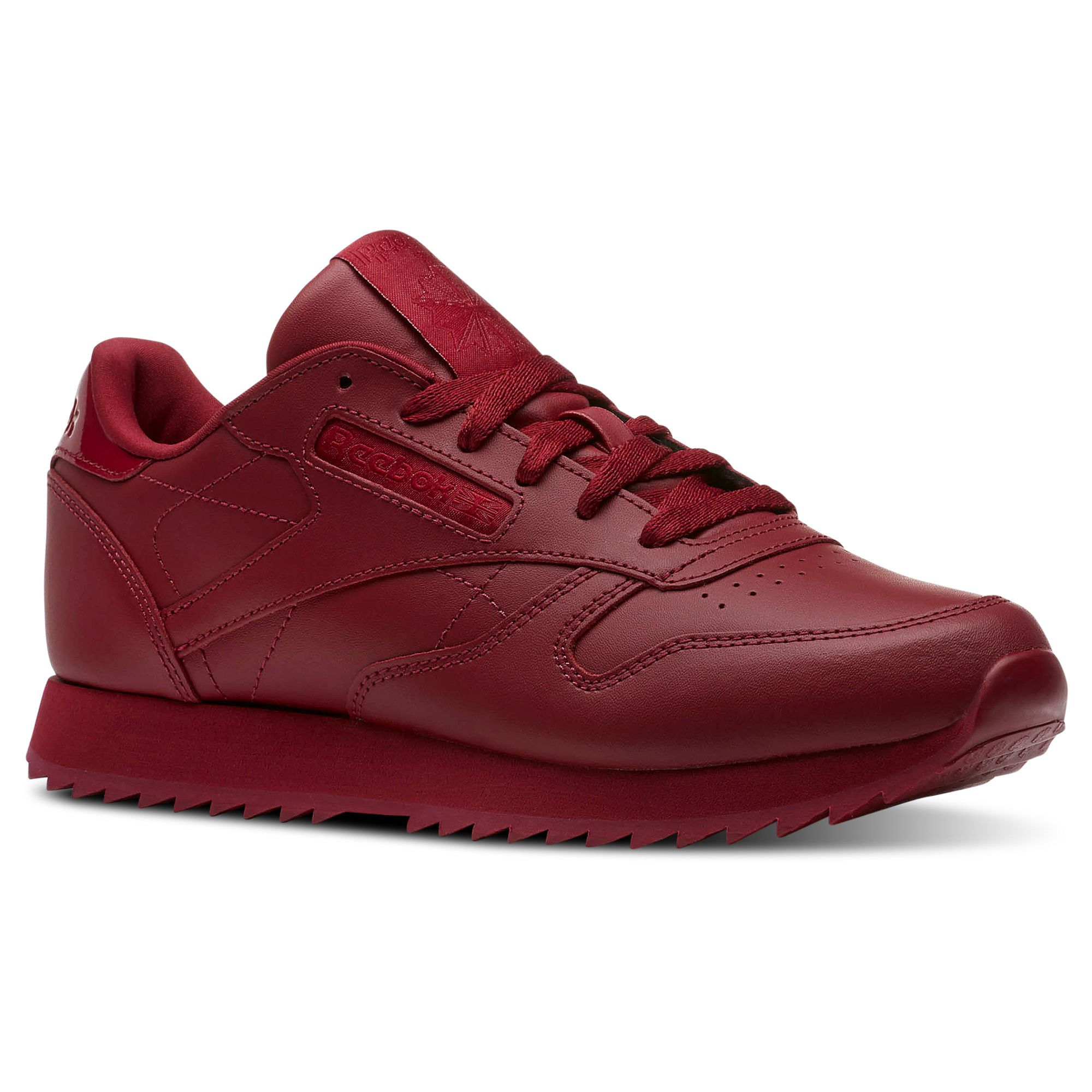 a82017a70b8 Shop for Classic Leather Ripple - Red at reebok.com. See all the styles and  colors of Classic Leather Ripple - Red at the official Reebok US online  store.