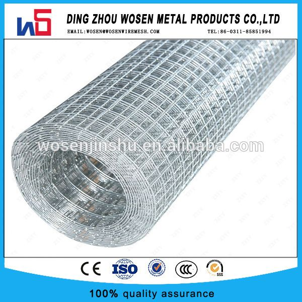 1 X1 X19 3ft Galvanized After Welded Chicken Aviary Wire Poultry Cage Netting Poultry Cage Metal Products Galvanized