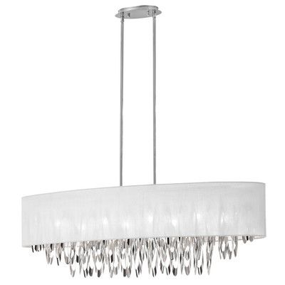 Radionic Hi Tech Allton 8 Light Kitchen Island Pendant