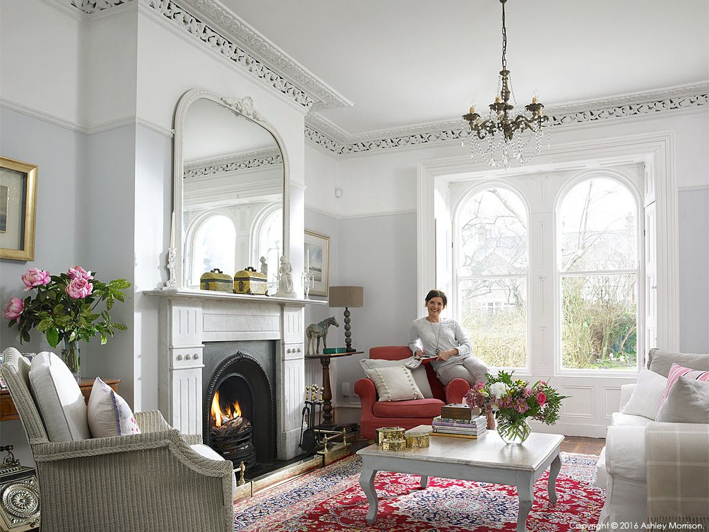 Living Room Ideas Victorian House emma cooper in the sitting room of her victorian semi detached