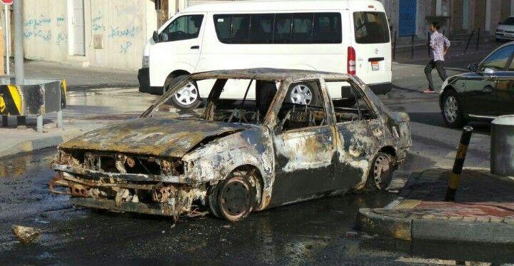 اعمال ارهابية شهدتها المملكة اليوم البحرين Bahrain حوادث اخبار ارهاب Suv Car Bahrain News Suv