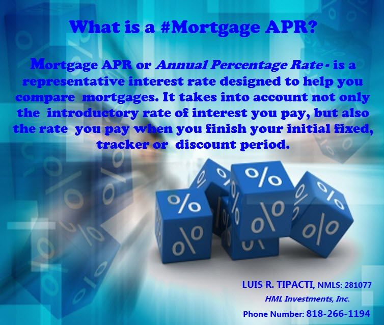What Is A Mortgage Apr Mortgage Apr Or Annual Percentage Rate Is A Representative Interest Rate Designed To Help You Compare Mortgages It Takes Into Accoun