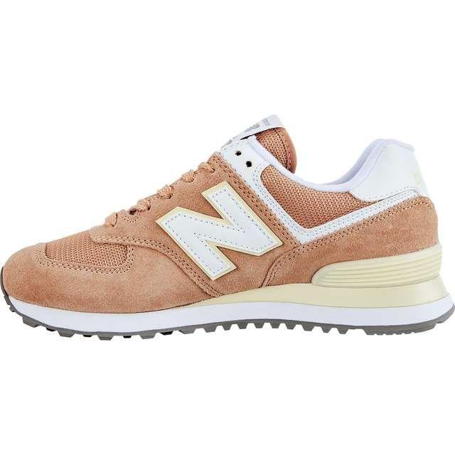 Sportowe Damskie Newbalance New Balance Wl574esf Orange New Balance New Balance Sneaker Shoes