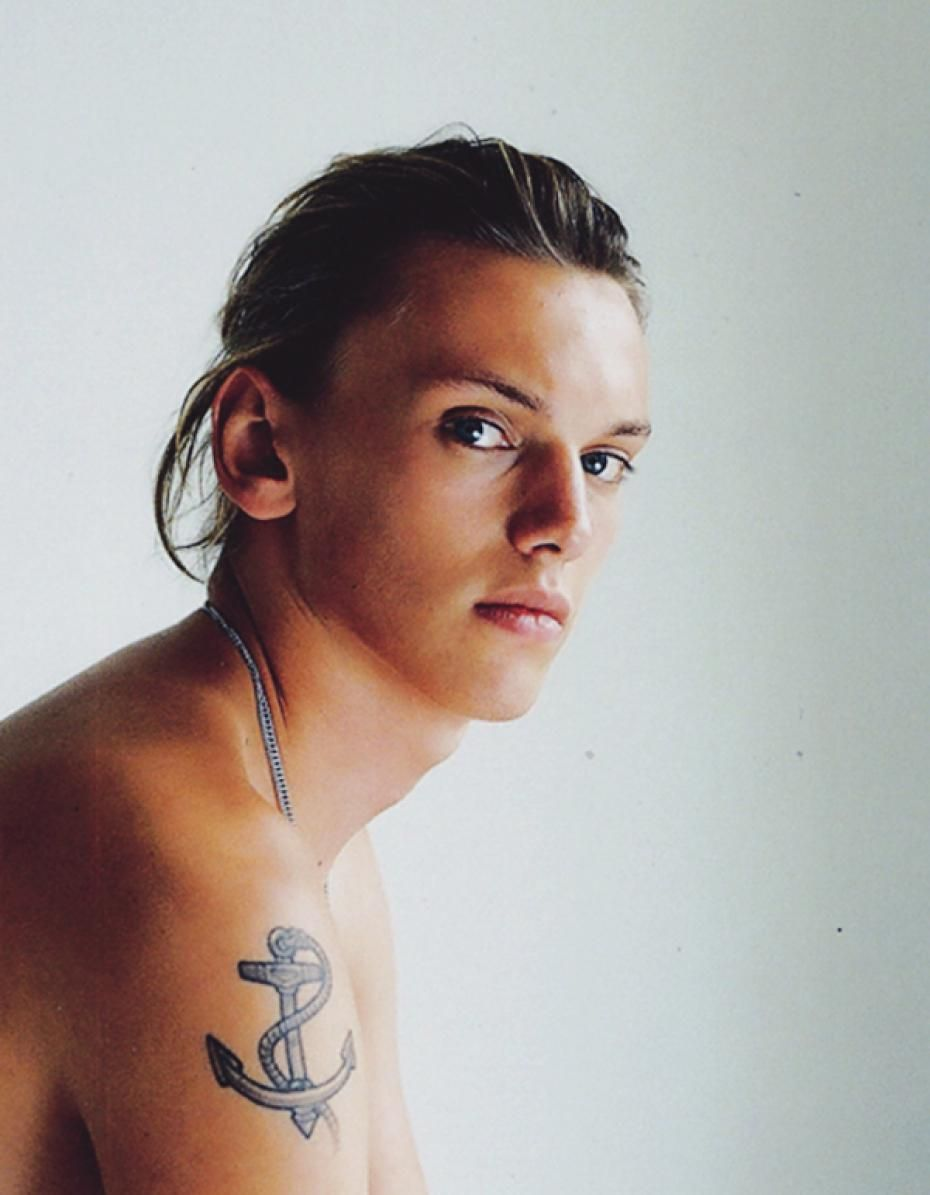 Topless Jamie Campbell Bower (born 1988) naked photo 2017