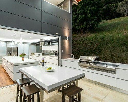 Outdoor Küche Metro : Indoor outdoor kitchen haus garten terrasse pinterest