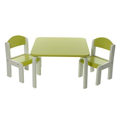 fabio ensemble table et 2 chaises pour enfant - Chaise Et Table Enfant