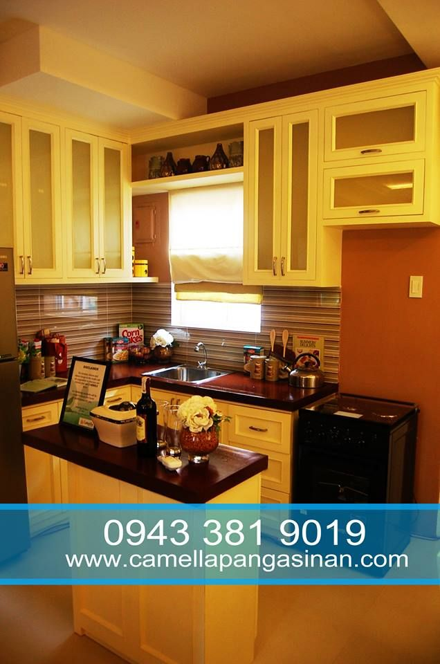 The Carmela Model House Has 3 Bedrooms Living Dining And Kitchen Areas 2 Toilet Bath With A Provision For Car Model Homes Dining And Kitchen Kitchen Area