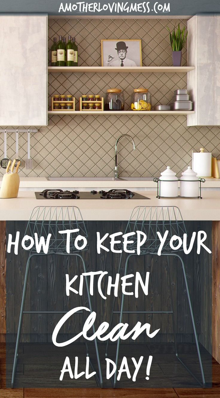 Simple and effective tips to help you keep your kitchen for How to keep kitchen clean and organized