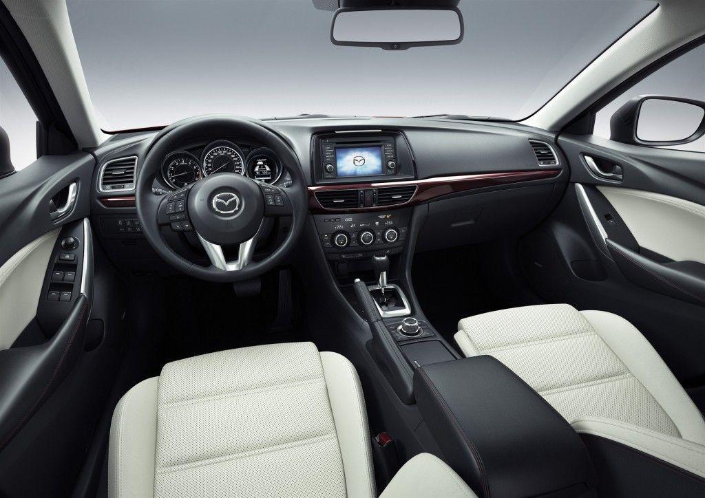 2015 Mazda Mazda6 2016 Mazda 6 Inherits Mazda 3 Infotainment System New Face First Look Mazda 6 Sedan Mazda 6 Mazda