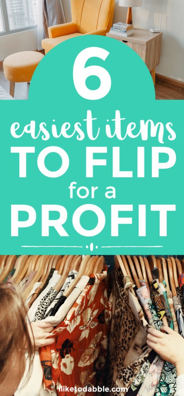Thrift Store Flipping: 6 Easiest Items to Flip for a Profit,