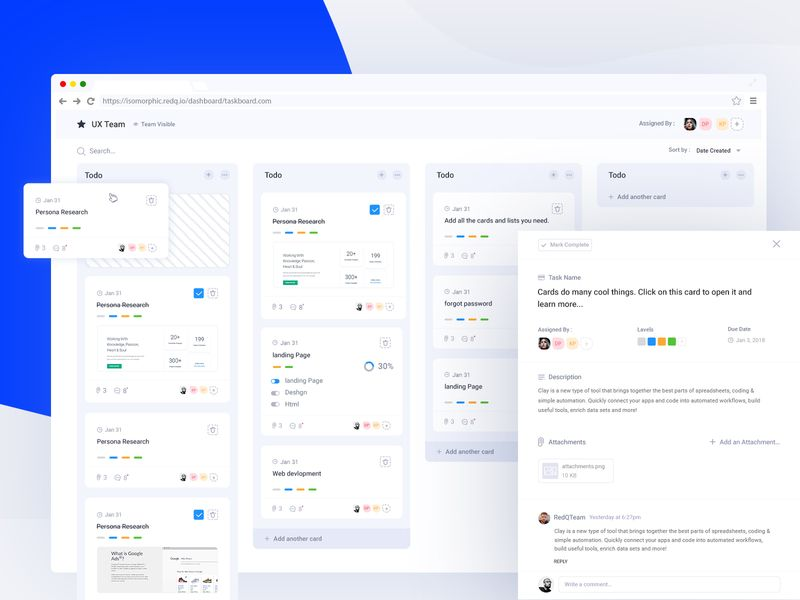 Task Management Dashboard Dashboard Design Task Management Project Management Dashboard