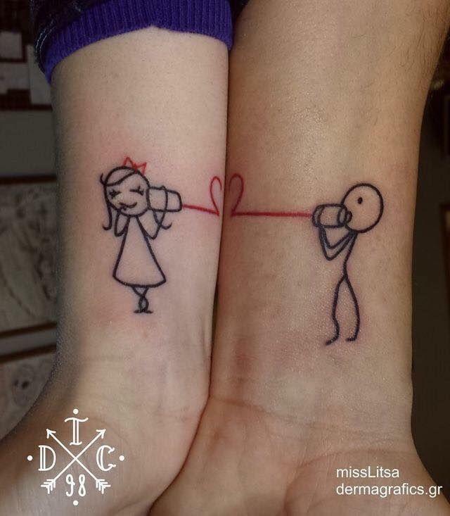 Ideas de Tatuajes para Parejas Tatuarse en pareja es una muy bonita - tatuajes para parejas