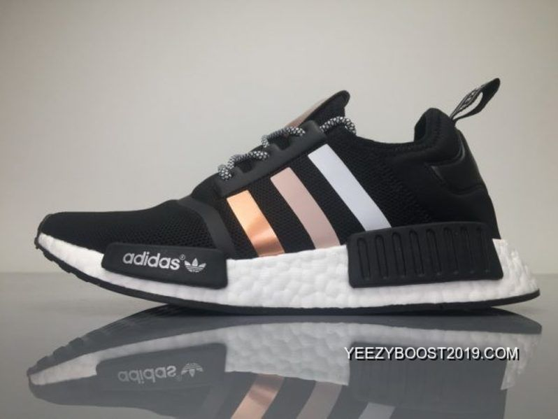 "37567d367 Adidas NMD R1 Boost ""Rose Gold"" BZ0292 Mens Running Shoes Cheap To ..."