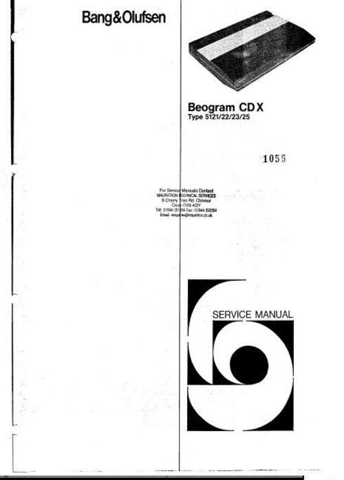 Pin on Bang & Olufsen Service Manuals