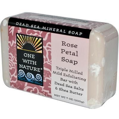 One With Nature Rose Petal Soap (1x7 Oz) Products - soap note