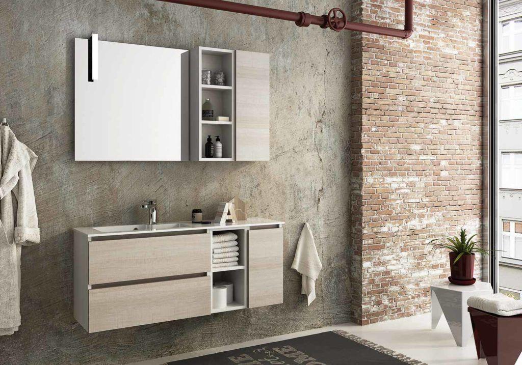Mobili da bagno moderni collezione Urban Componibile