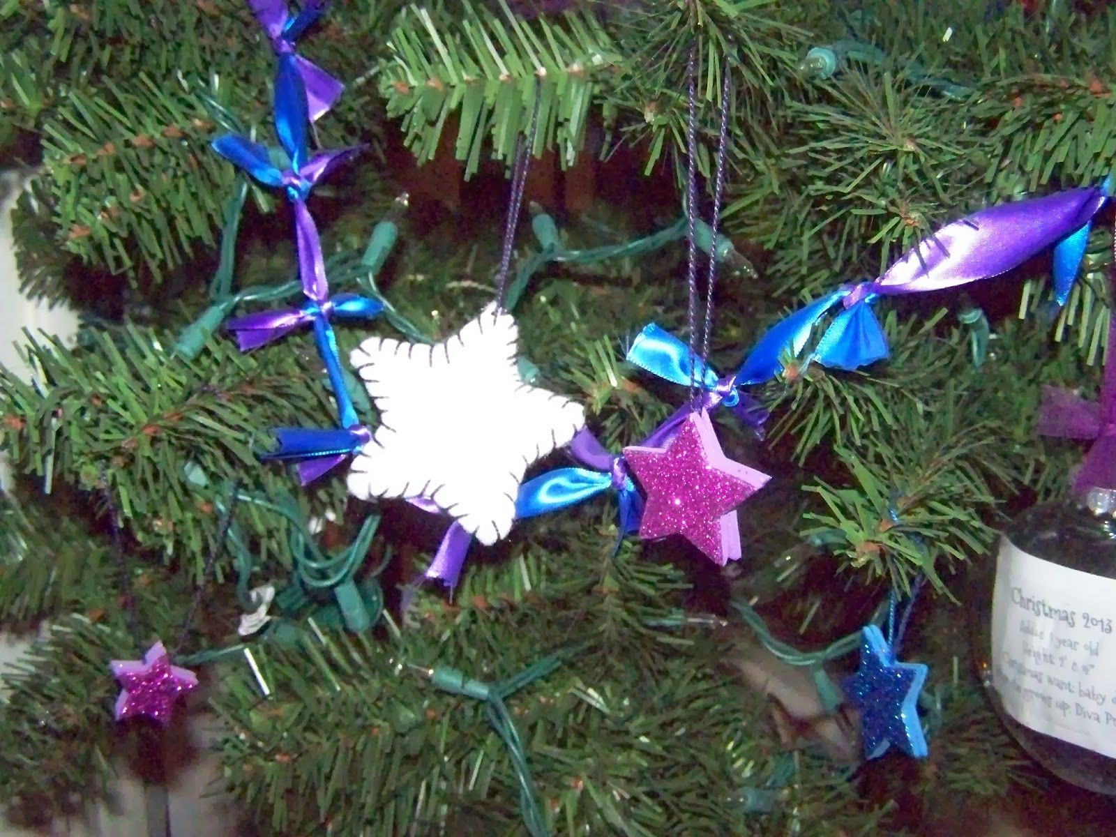 Homemade Christmas Tree Ornaments And Decorations Ribbon