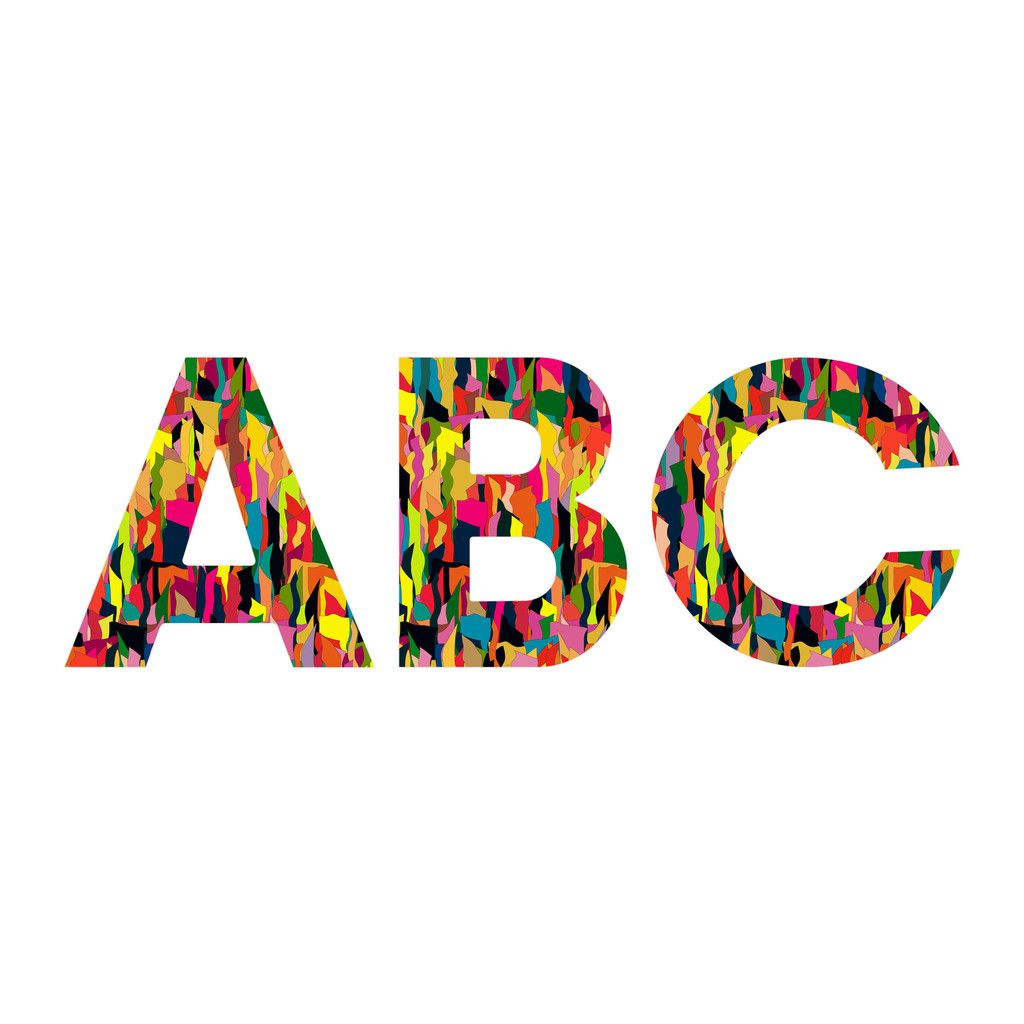 """Sharon Turner Riot Decorative Letters –  #wall #decor #art #a-z - 20% off through 11/19 with code """"getwordy""""!"""