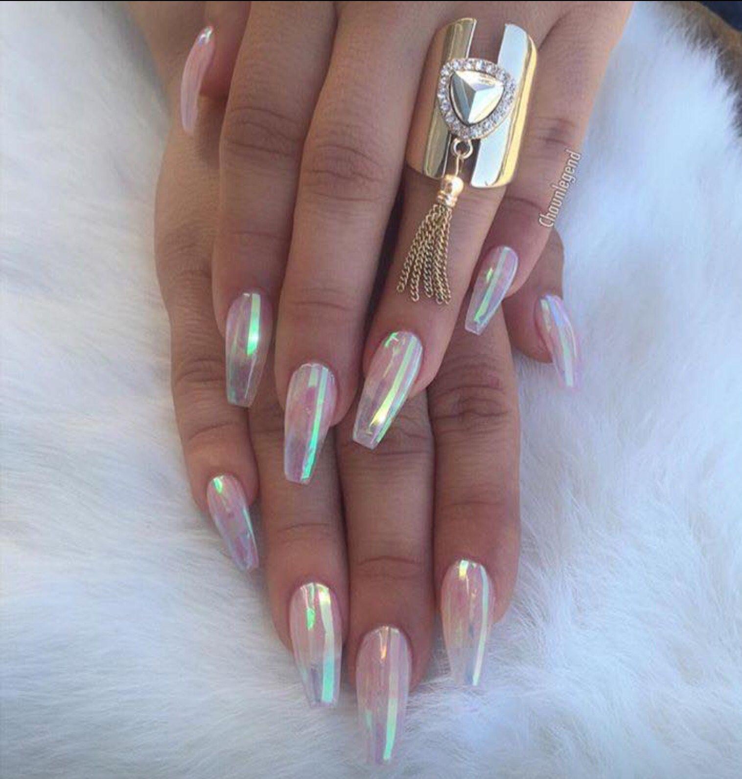 Transparent colored nails......GORG!! | Beauty 101 | Pinterest