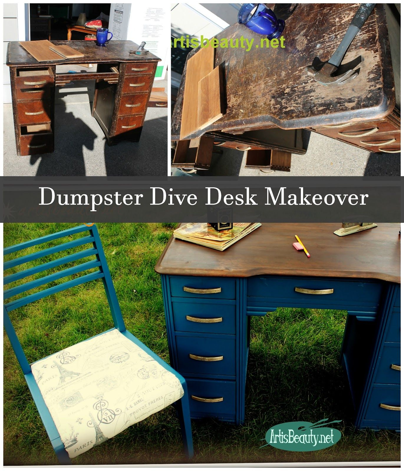 Humpty Dumpty Roadside Rescue Desk And Chair How To Paint Any