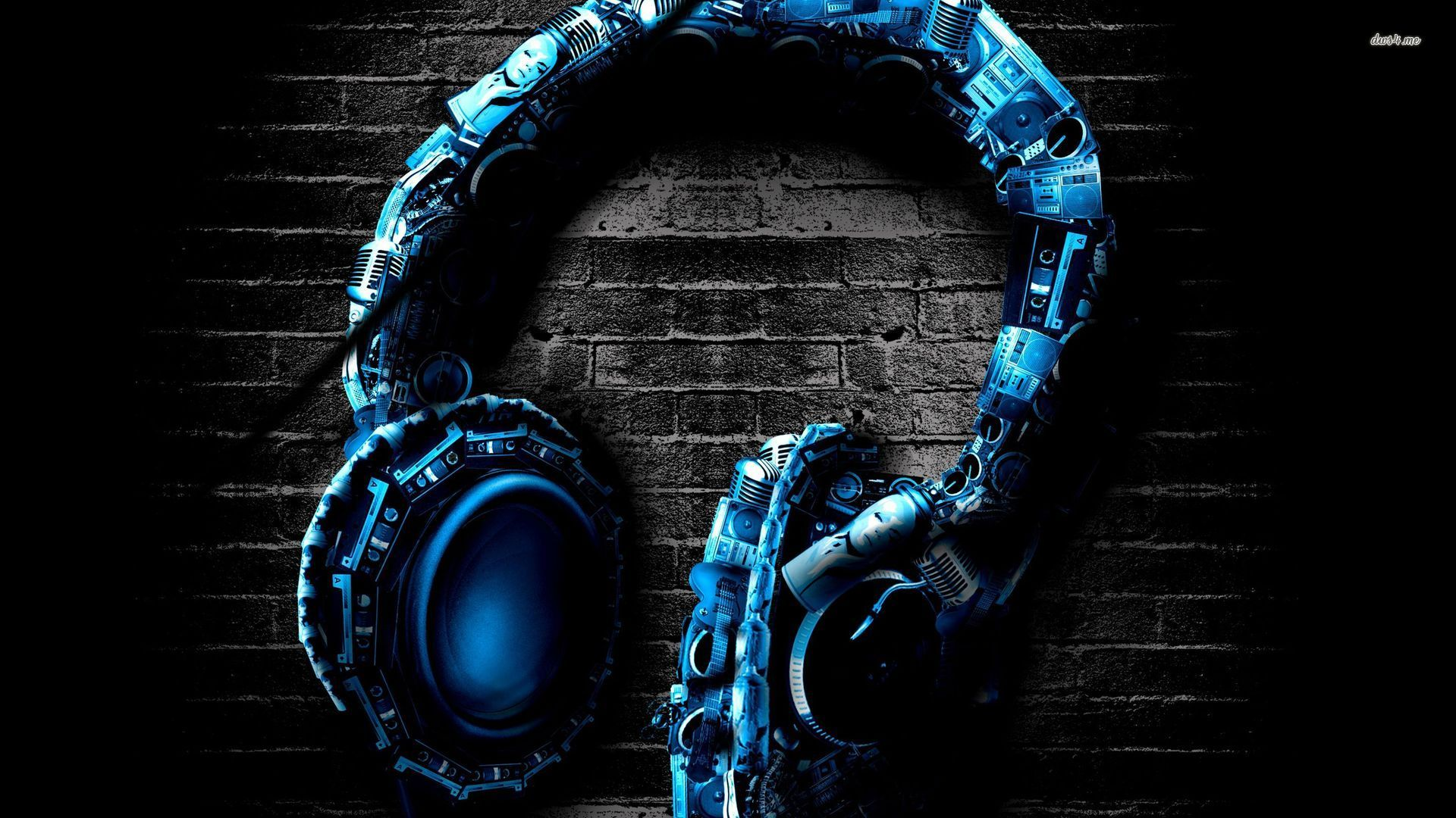 Blue Earphones Cool Wallpapers For Computer Cool Backgrounds