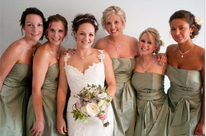 Sage Green Pure Silk Bridesmaid Dresses Strapless With Gathered Waist A Line Knee Bridesmaid Dresses Wedding Bridesmaid Dresses Bridesmaid Dresses Strapless