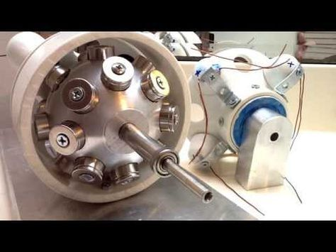 Phase 1 of my Sphere Generator Magnet Motor, Phase 3 will ...