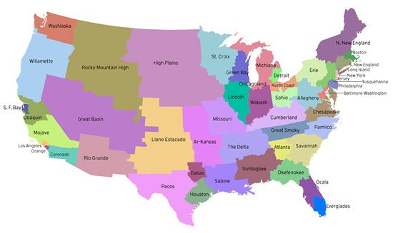 The United States Of Roughly Equal Population Funny Pinterest - Map Of Us Population Electoral College