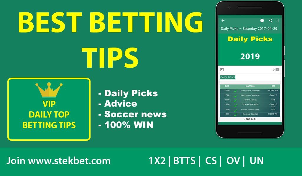Free betting tips 100 win sports betting computer programs