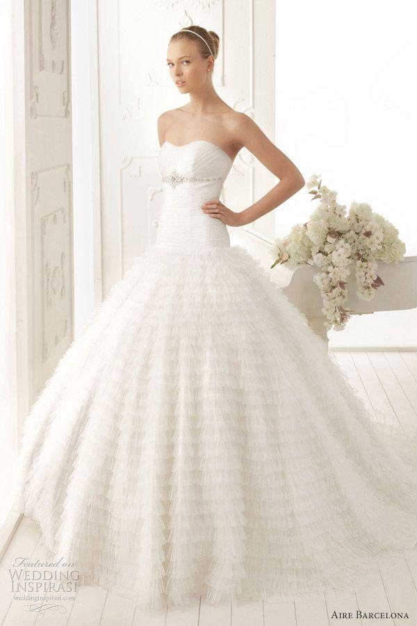 Aire Barcelona Wedding Dresses 2013 — Aire Vintage Bridal Collection ...