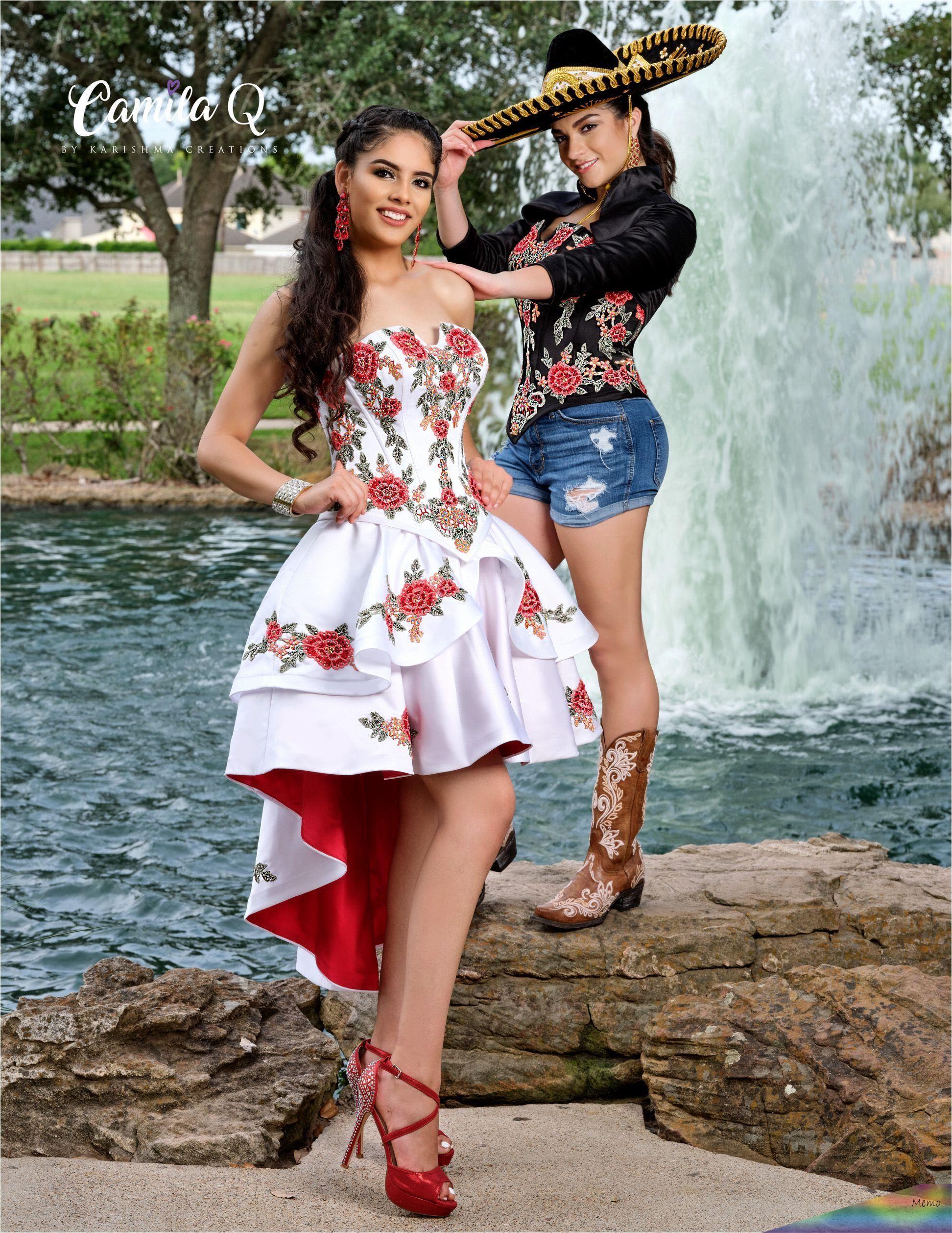 apr 26, 2020 - 3 piece floral charro quinceañera dress