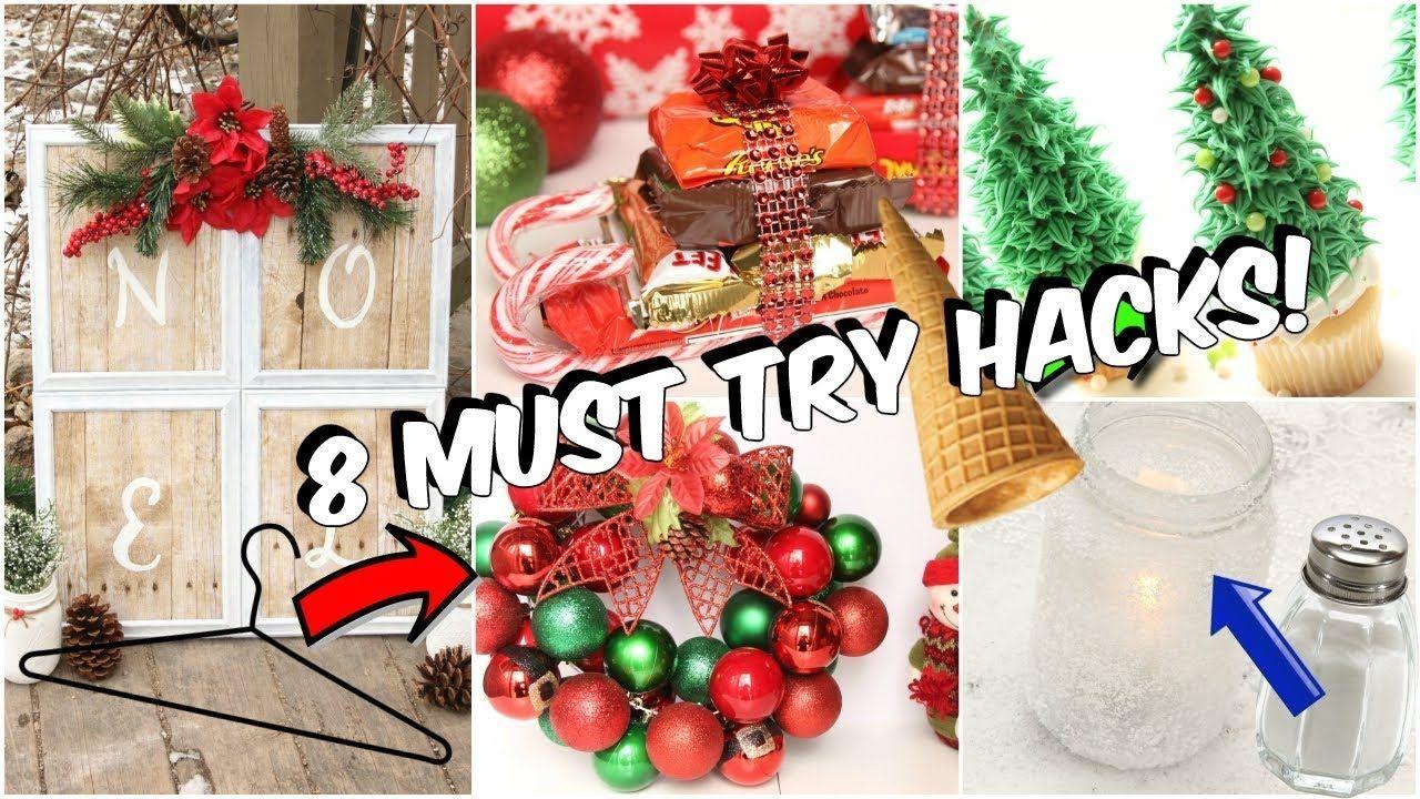 8 Dollar Tree Christmas Hacks You NEED to Try YouTube