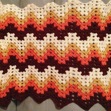 Crochet For Children Beautiful Colours Granny Ripple Afghan
