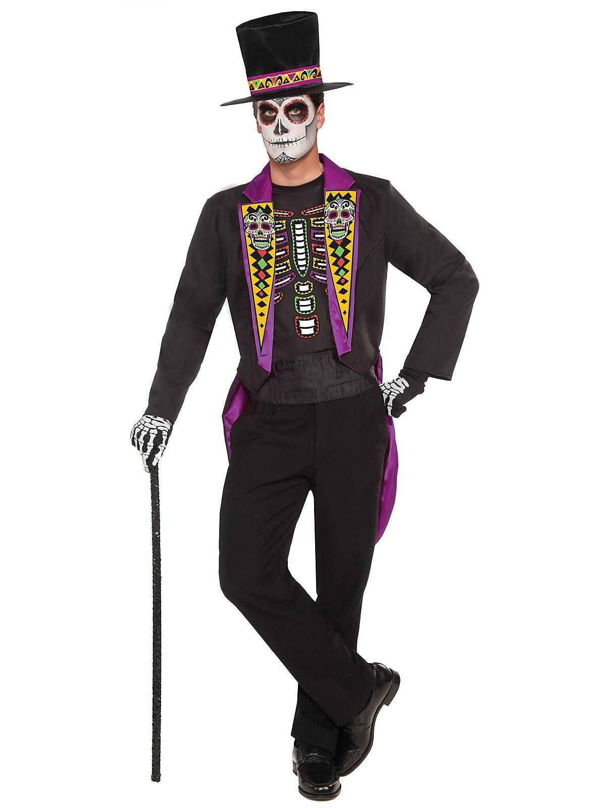 Day of the Dead Formal Mens Costume Costume craze, Adult