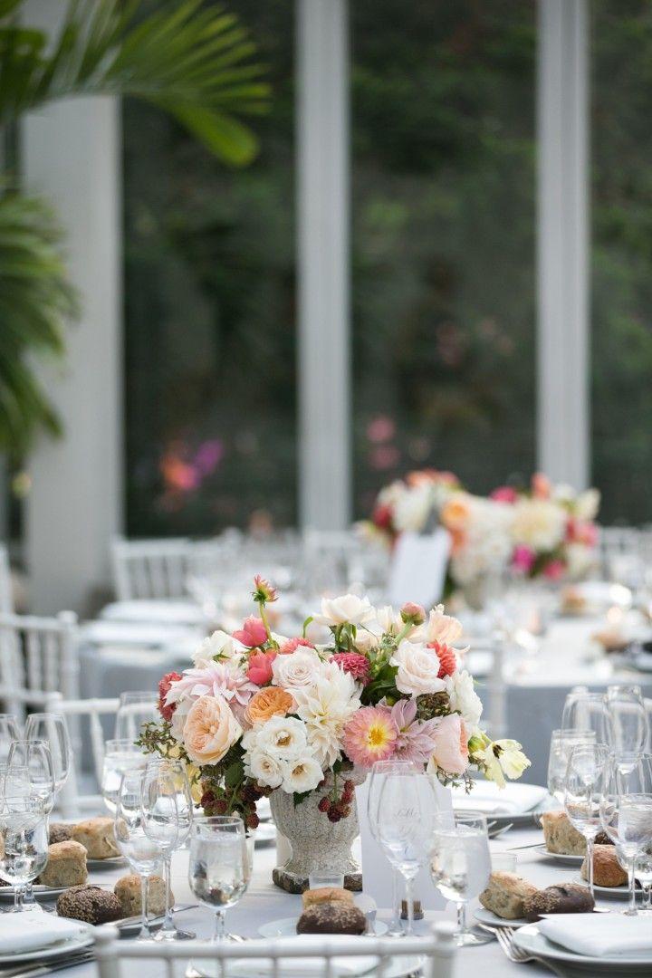 Dreamy New York Wedding at The Brooklyn Botanic Gardens - MODwedding