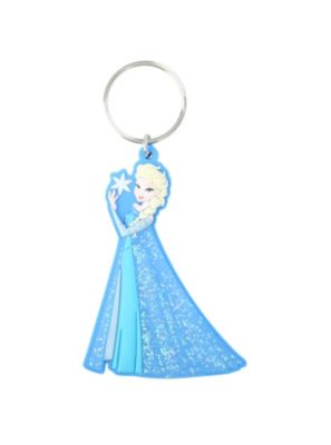 Disney Frozen Elsa Key Chain--Face looks slightly off, but dat glitter in the dress...8-0