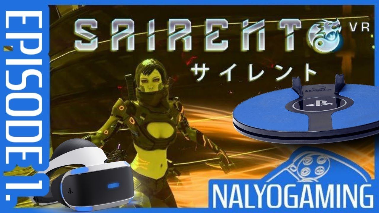 SAIRENTO VR & 3dRudder, PSVR Gameplay First Look